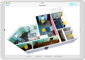 3D Interface for Apartment